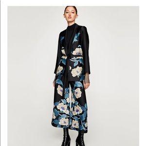 Zara limited edition floral jacket